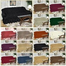 Jacquard Sofa Covers for 1, 2 & 3 seater Universal Fitting / Alternate to Throw