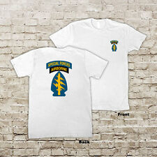 US ARMY United States Army Special Forces Green Berets White or Black T-Shirt