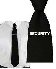 CLIP ON TIE SECURITY DOORMAN SECURITY PROFESSIONAL OFFICER