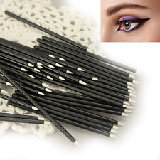 20/50PCS Disposable Eyeliner Makeup Wand Applicator Cosmetics Ultra Fine Brushes