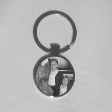 Personalised gift Engraved text and or photo key ring - birthday, Fathers day