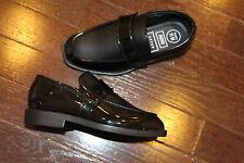 After Six A6090 Boys Baby Tuxedo Dress Formal Shoes Black Patent 8 9 10 11 12 13