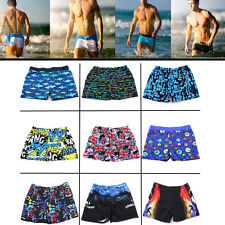 2016 Sexy Cool Men's Swimwear Boxers Swimming Trunks Swim Shorts Beach Pants HOT