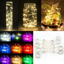 String Fairy Light 10/20 LED Battery Operated Xmas Lights Party Wedding Decor