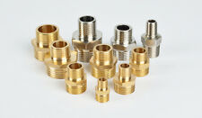 1PCS Male Thread BSP Brass Pipe Fitting Hex Reducing Adapter Reducer Water Air