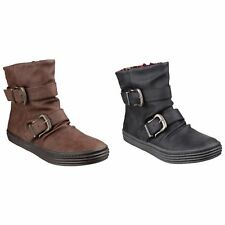 Blowfish Womens/Ladies Octave Texas Double Buckle Ankle Boot