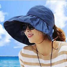Foldable Mountaintop Outdoor Broad Brim Visor Sun Hats Hiking Cap Floppy Hat