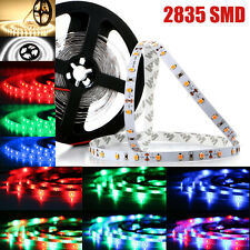 5M 10M 15M 2835 5630 300SMDs RGB Warm/Cool White Red Green Blue LED Strip Light