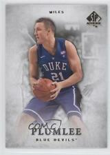 2012-13 SP Authentic #29 Miles Plumlee Duke Blue Devils RC Basketball Card 2u3