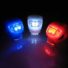 3 Model LED Bicycle Bike Silicone Frog Light Front  Rear Firm Safety Light X 1