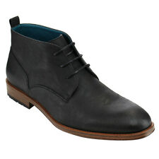 Men's Lace Up Desert Chukka Ankle Boots BLACK;BROWN;CAMEL;NAVY