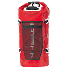 Held Motorcycle Roll Bag Waterproof Red Dry Motorbike Tail Pack Round Touring