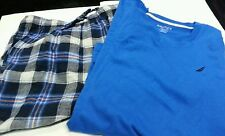 Mens Nautica Brand Two Piece PJ's Set Various Colors Size Small Medium