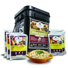 Wise Food 60 & 120 Serving Emergency Freeze Dried Entree Meals (New 2016 Kit)
