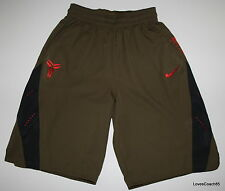 Nike Kobe 8 Python Men's Basketball Shorts Squadron Green/Red 521050-302 YOTS