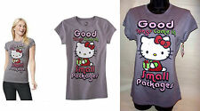 Hello Kitty Good Things Come in Small Packages Christmas Holiday Shirt L XL 2XL