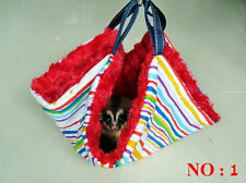 "14""x14"" Sugar Glider / Rat Cage Bag "" BIG FLUFFY "" Parachute+Metal Hook Washable"