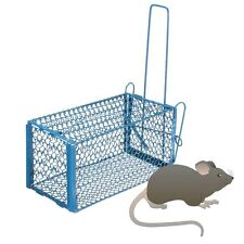 Folding Human Cage Trap Snap Rat Mouse Rodent LiveAnimls Safe Indoor Outdoor