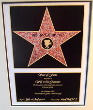 Hollywood Star of Fame - Superb Personalised Gift with any name and dedication!