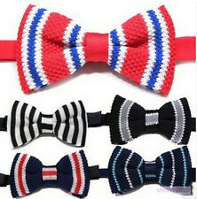 30X Wholesale NEW Mens Classic Knit Knitted Bow Tie Bowtie Wedding Woven JB0010