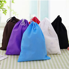 2015 Portable Shoes Bag Travel Storage Pouch Drawstring Dust Bags Non-woven SM