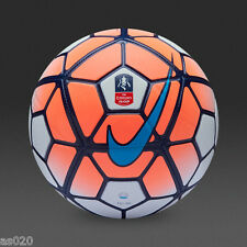 Nike Strike FA Cup F.A.Cup 2016 Replica Football Ball - Coral - Size 3 4 5