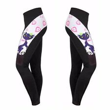 Women's Cycling Long Pants Gel Padded Road Bike Pants Cycling Tights Shockproof