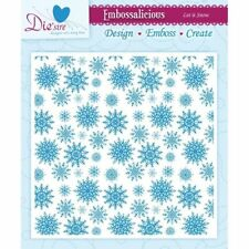 """Crafter's Companion Embossalicious Embossing Folders 6""""X6"""" CHOOSE ONE 5 Designs"""
