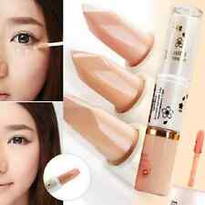 1xBlack Eye Circle Cover Liquid+Cream Concealer Two End Makeup Concealers Beauty