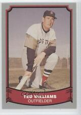 1988 Pacific Baseball Legends #50 Ted Williams Boston Red Sox Card 0i1