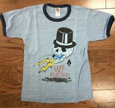 New Junk Food Vintage Inspired Grateful Dead Live & Electric Boys Tee Shirt