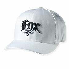 NEW FOX NEXT CENTURY FLEXFIT HAT FLEX FIT CAP HAT LID MENS ADULT GUYS WHITE