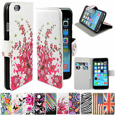 Flip Leather Stand Wallet Phone Accessory Cover Case For Sony Samsung HTC iphone