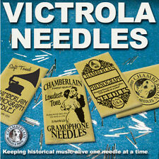 PHONOGRAPH NEEDLES for gramophone phonograph Victrola 78rpm records