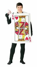 KING OF HEARTS PLAYING CARD Fancy Dress Alice in Wonderland Casino Outfit 80769