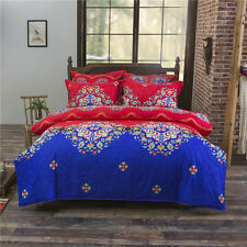 Ethnic Style Pillowcase Quilt Duvet Cover Bed Set Bedlinen All Size jsh L