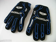 NEW WULFSPORT BLUE KIDS GLOVES (ALL SIZES) MOTOCROSS TRIALS QUAD YOUTH MX CHILD