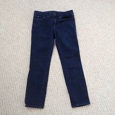 TORY BURCH 26 Crop CROPPED SKINNY Jean 5001275 JeansFREE SHIPPING