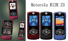 Unlocked Motorola RIZR Z3 Quadband GSM Camera Bluetooth Memroy Card Cell Phone