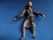 """LORD OF THE RINGS MARVEL 2002 ARAGORN 6 """" FIGURE COMPLETE WITH WEAPONS"""