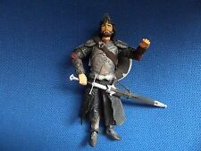 "LORD OF THE RINGS MARVEL 2003 ARAGON WITH SHIELD AND WEAPONS 6"" FIGURE"