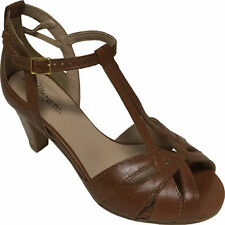 Mariana by Golc Women's Sibyl 2 Cognac Leather Sandal
