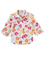 NWT Gymboree Floral Reef Girl Floral Shirt Top  Size 7