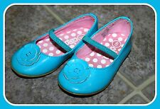 Circo EUC Size 5 Blue Mary Jane Ballet Flats Girls Shoes Back To School FUN