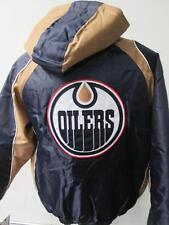 Edmonton Oilers Mens L XL 2XL Full Zip Hooded Embroidered Winter Jacket EDO 2