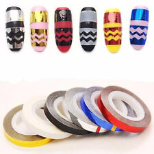 For Nail Polish Sticker 3D DIY Nail Art Tape Line Tips Striping Rolls Decoration