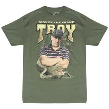 Swamp People King Of The Swamp Green Licensed T-shirt NEW Sizes M-XL