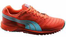 Puma Faas 300 V3 Mens Trainers Lightweight Running Shoes Red Mesh 187066 08 D91