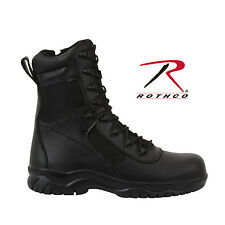 Rothco 8 Inch Forced Entry Tactical Boot With Side Zipper & Composite Toe - 5063