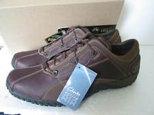 NEW MENS CLARKS ACTIVE AIR OUTLEAP GORETEX BROWN LEATHER SHOES VARIOUS SIZES